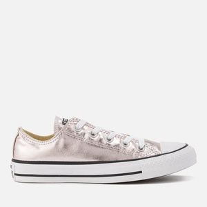 converse metallic canvas